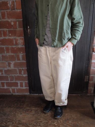 ordinary fits JAMES PANTS再入荷しました。_d0228193_10561872.jpg