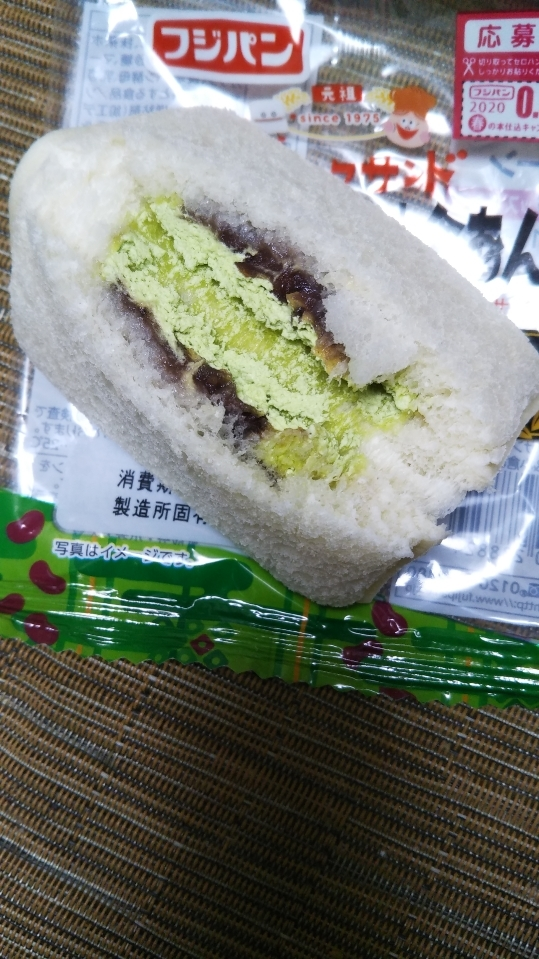 スナックサンド 抹茶ホイップ&小倉あん_f0076001_23042990.jpg