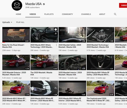 日系自動車メーカー、Mazda USAの「コロナ対策ガイドライン」CMはこんな感じ_b0007805_02165845.jpg