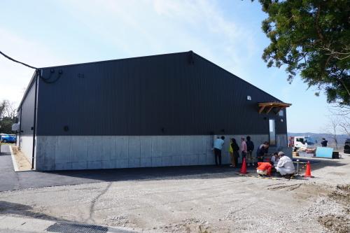 進捗状況「Vin de la bocchi farm & wineryワイナリー建設工事(建築工事)」_d0095305_18412568.jpg