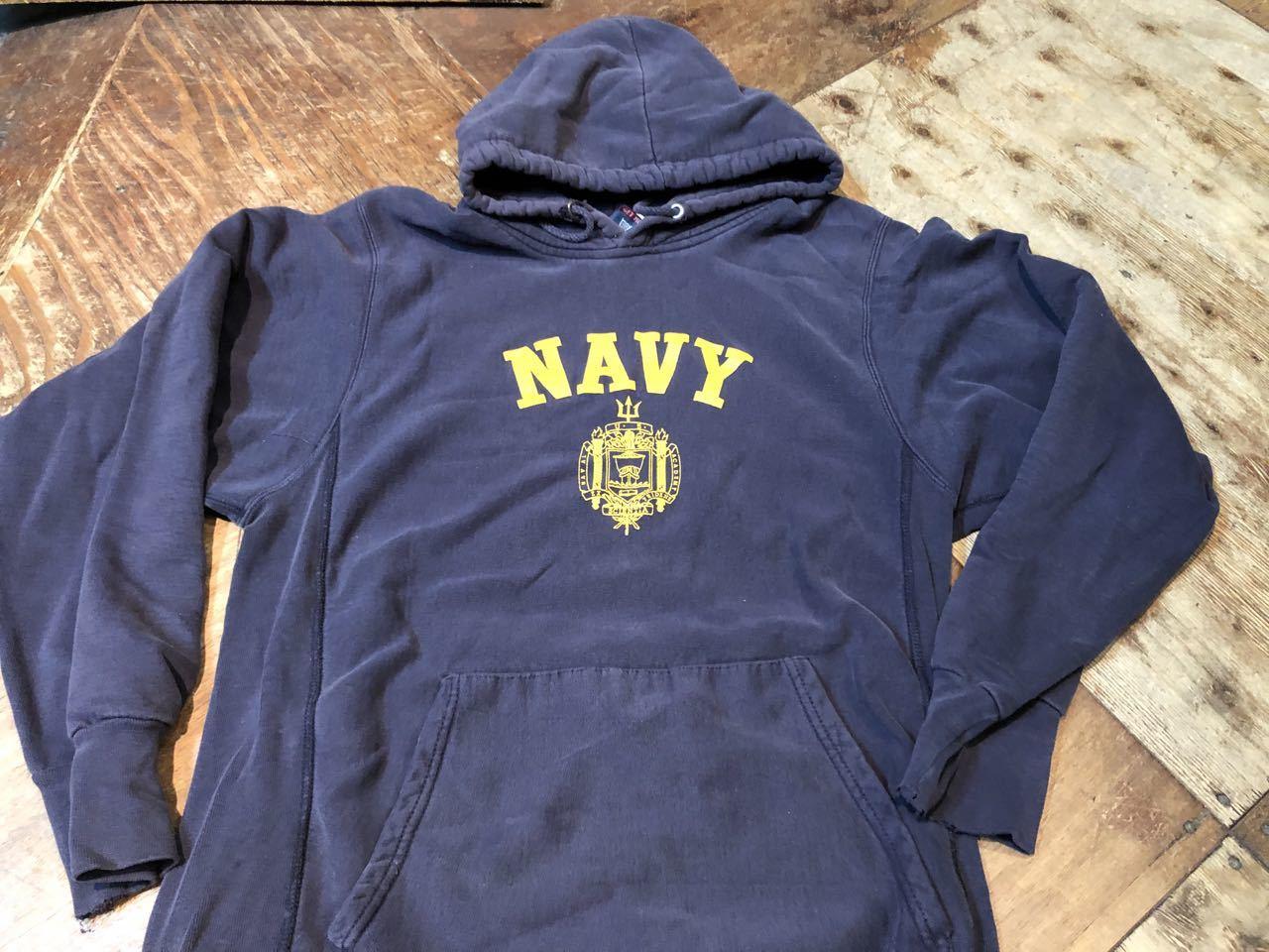 3月31日(火)入荷!MV SPORTS U.S NAVY  PRO-WEAVE スエットパーカー/Hoodie !_c0144020_13050924.jpg