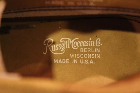 """一生のお供に「Russell Moccasin」 \""""Sporting Clays ChuKka\"""" ご紹介_f0191324_08090089.jpg"""