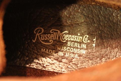 """一生のお供に「Russell Moccasin」 \""""Sporting Clays ChuKka\"""" ご紹介_f0191324_08100570.jpg"""
