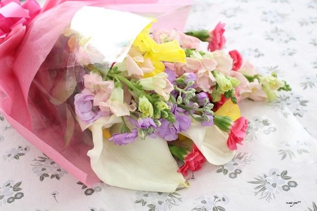 3月のお花。春は別れと出会いの季節です♪_f0023333_22092380.jpg
