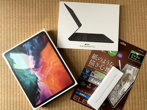 """(逸品)iPad Pro 12.9\"""" G4 with Apple Pencil G2 and Apple Smart Keyboard Folio_f0111040_08505274.jpg"""