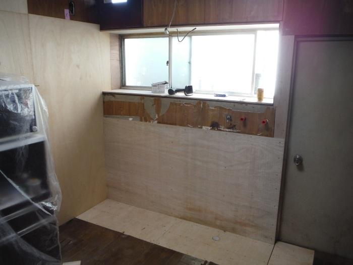 床上浸水 ~ キッチン工事。_d0165368_03593172.jpg