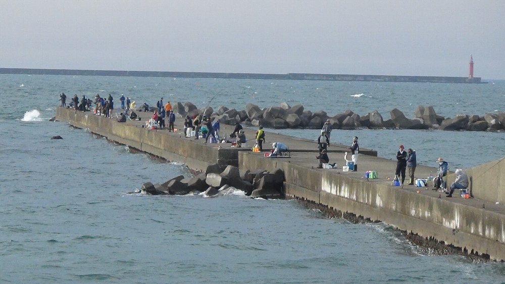 釣り場は賑やか!_e0065084_1852382.jpg