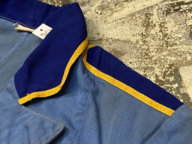 4月1日(水)マグネッツ大阪店、春ヴィンテージ入荷!!#6 Work Part2編!! ~40\'s DenimCoverall & LopingStitch、ShopCoat!!_c0078587_9333225.jpg