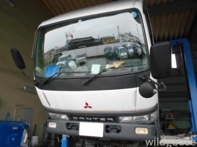 FB51ABXキャンタートラック 車検整備中(\'-\'*)_c0213517_14524183.jpg