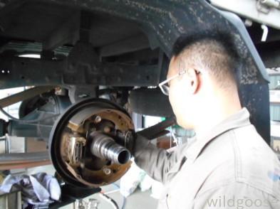 FB51ABXキャンタートラック 車検整備中(\'-\'*)_c0213517_14524744.jpg
