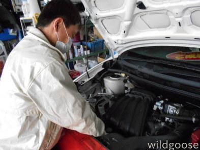 VY12AD 納車整備中(。-_-)ノ_c0213517_15411473.jpg