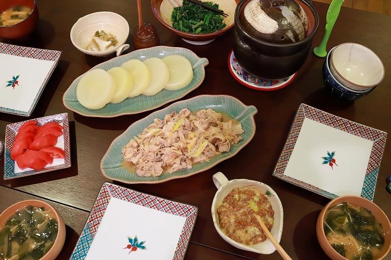 夕食と頂き物おやつ。_f0348831_20330671.jpg