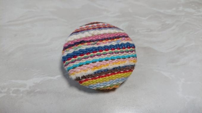 織りのブローチ完成です♪_f0374160_22091554.jpg
