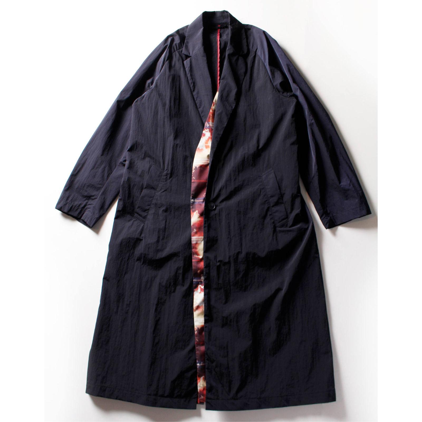 FIT MIHARA YASUHIRO : NYLON CHESTERFIELD COAT LAST ONE_f0224266_12544864.jpg