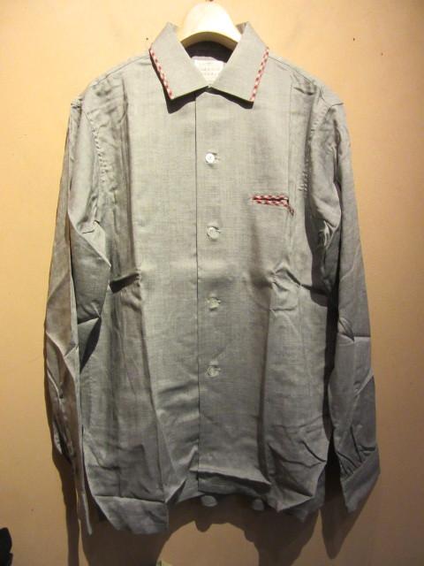 60s Deadstock シャツ/ループネック ボックスシャツ_b0166471_18045110.jpg