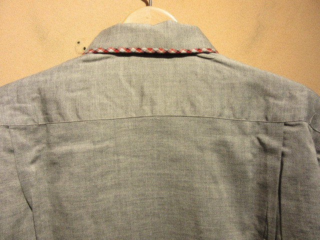 60s Deadstock シャツ/ループネック ボックスシャツ_b0166471_18060139.jpg