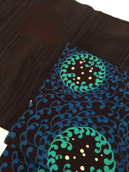 4/3より!吉祥寺東急百貨店「アンティーク着物と古道具展」お買い得着物色々♪販売商品29_c0321302_23541441.jpg