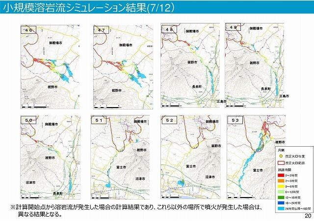 富士山は小規模噴火でも3時間以内に溶岩流が富士市街地に到達 「富士山ハザードマップ中間報告」_f0141310_07421054.jpg