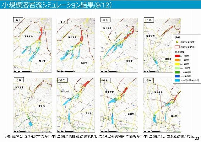 富士山は小規模噴火でも3時間以内に溶岩流が富士市街地に到達 「富士山ハザードマップ中間報告」_f0141310_07422320.jpg