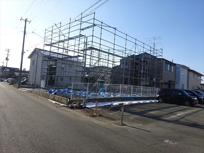 青山の家 建て替え工事 進行中。_f0105112_04584234.jpg