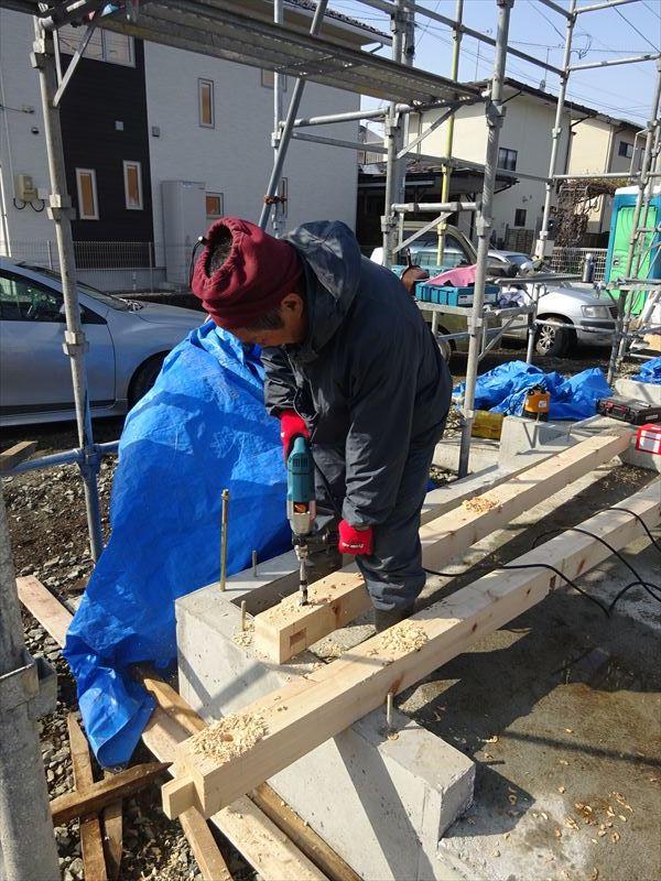 青山の家 建て替え工事 進行中。_f0105112_05025405.jpg