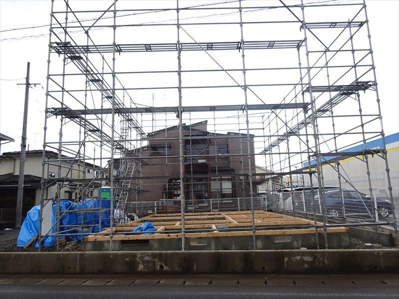 青山の家 建て替え工事 進行中。_f0105112_05025422.jpg