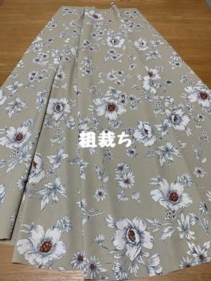籠ってスカート縫ってるだね_f0251618_17512705.jpg