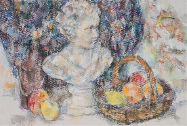 少女像と果物籠_c0236929_20515173.jpg