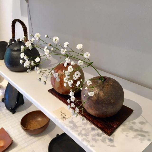 ギャラリー開催 ・James Erasmus 春の陶器展・_a0141134_15340867.jpg