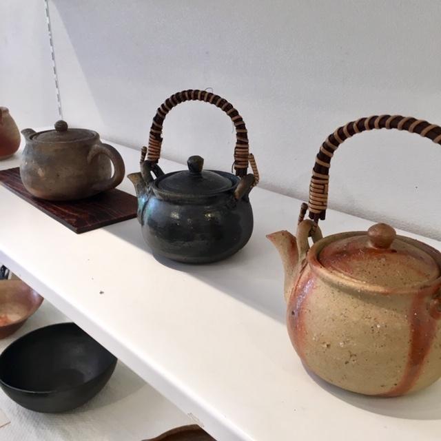 ギャラリー開催 ・James Erasmus 春の陶器展・_a0141134_15355738.jpg