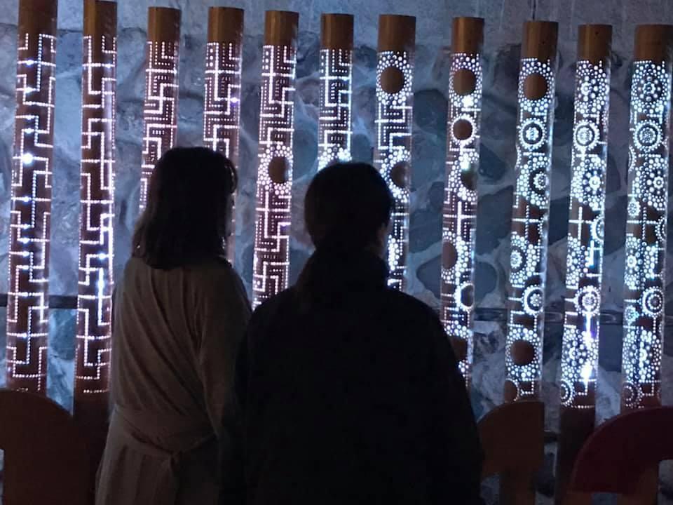 【 湯村温泉・夢ナリエ 】4/2日_f0112434_23301153.jpg