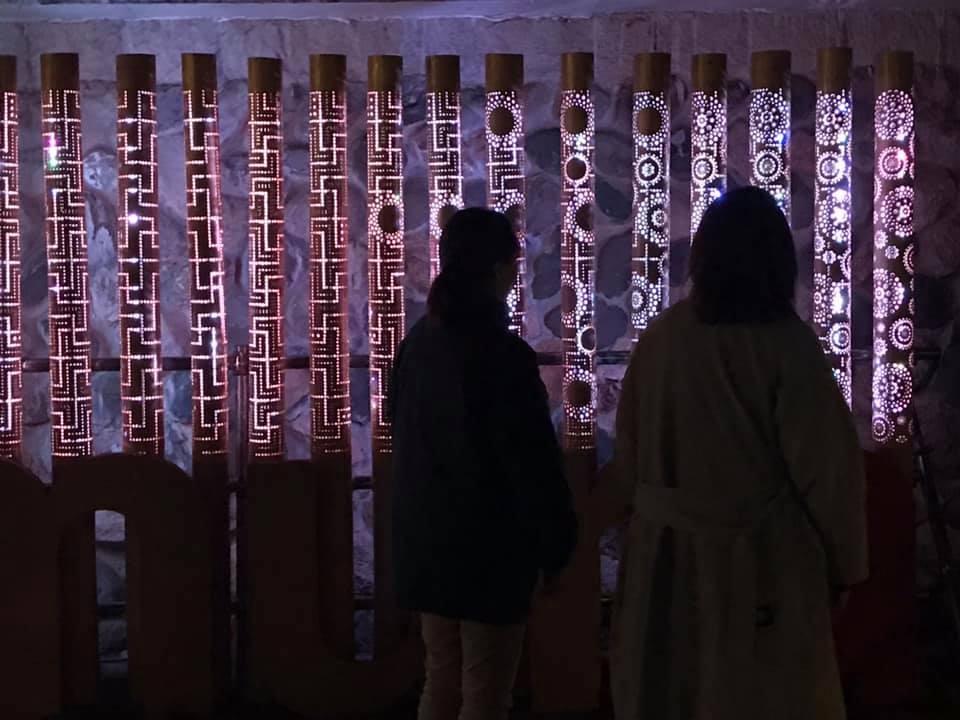 【 湯村温泉・夢ナリエ 】4/2日_f0112434_23323196.jpg