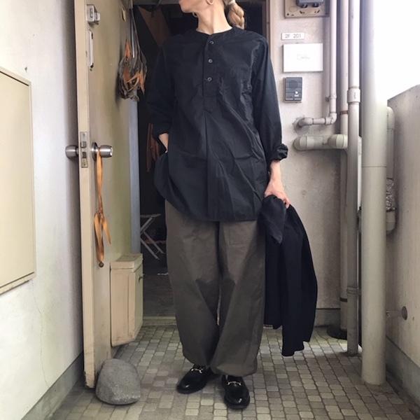 真夏の羽織り COMOLI_d0364239_18255717.jpg