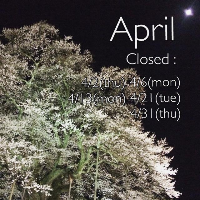 4月の定休日のお知らせ_f0331651_09280531.jpg