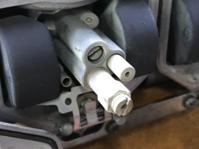 NSR MC21 焼き付き修理 ⑤ _e0114857_10320180.jpg