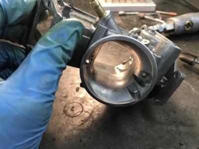 NSR MC21 焼き付き修理 ⑤ _e0114857_10400255.jpg