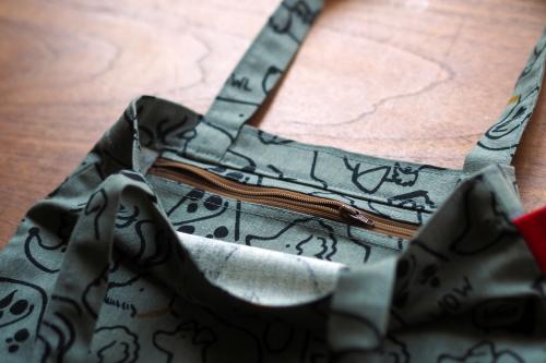 「eco bag & mask set」製作中!_e0243765_15100366.jpg