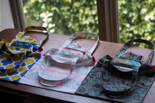 「eco bag & mask set」製作中!_e0243765_15111688.jpg