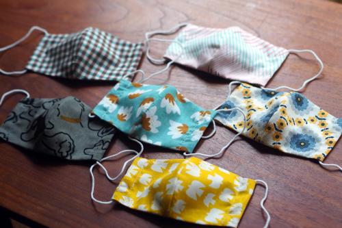 「eco bag & mask set」製作中!_e0243765_15121365.jpg