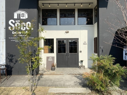 cafe Soco リニューアルオープン!_b0239082_21352121.jpg