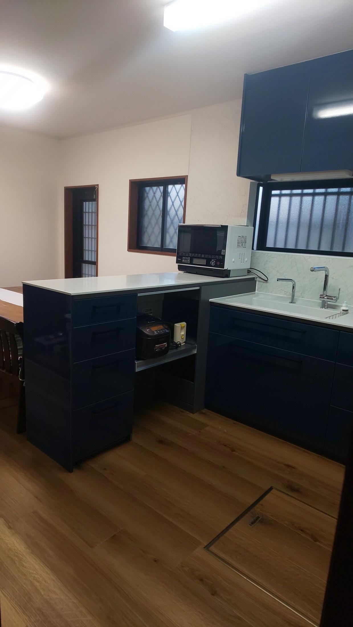 キッチン改装工事_e0190287_17315794.jpg