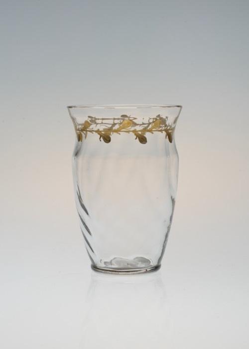 Emile Galle Gold Paint Glass No:1_c0108595_23331059.jpeg