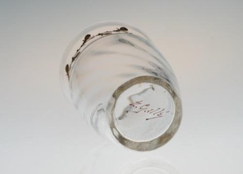 Emile Galle Gold Paint Glass No:1_c0108595_23383649.jpeg