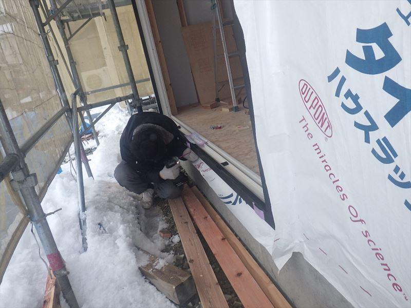 下太田 古材新築の家 大工工事進行中です。_f0105112_04523624.jpg