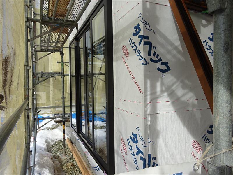下太田 古材新築の家 大工工事進行中です。_f0105112_04523632.jpg