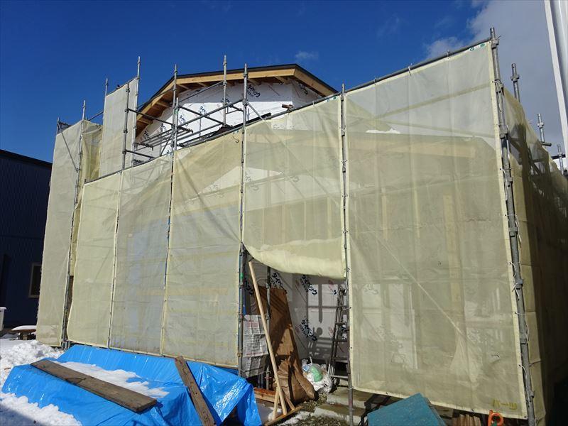 下太田 古材新築の家 大工工事進行中です。_f0105112_04523668.jpg