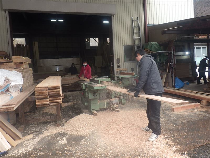 下太田 古材新築の家 大工工事進行中です。_f0105112_04571050.jpg