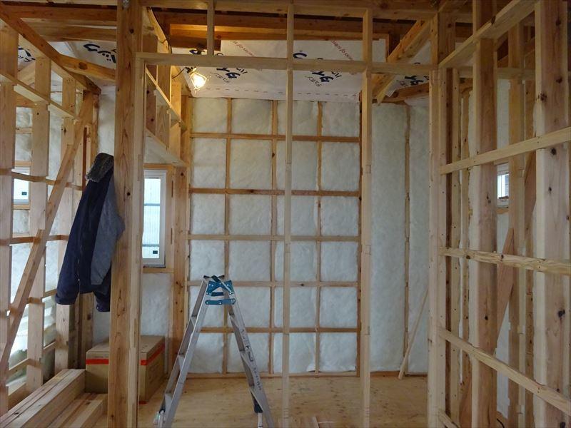 下太田 古材新築の家 大工工事進行中です。_f0105112_04571089.jpg