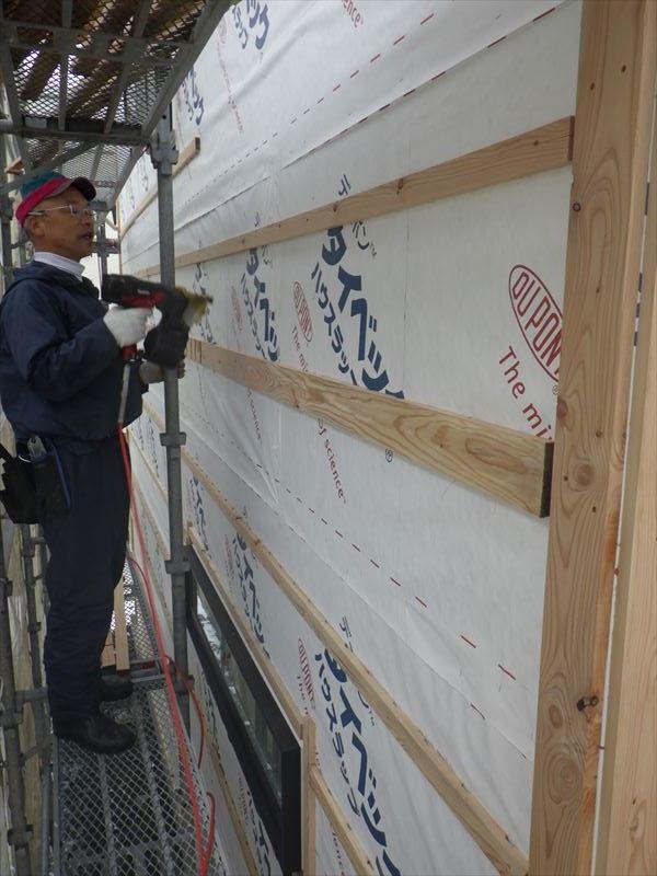 下太田 古材新築の家 大工工事進行中です。_f0105112_04571156.jpg