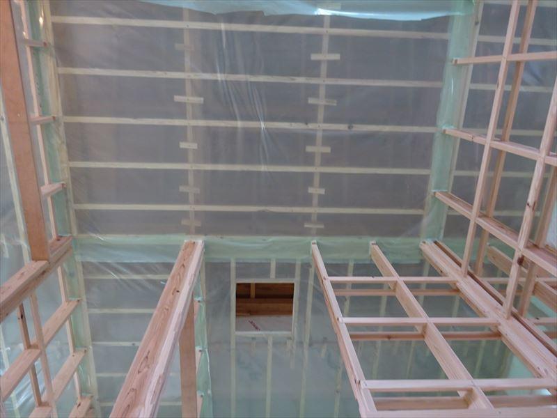 下太田 古材新築の家 大工工事進行中です。_f0105112_05082979.jpg